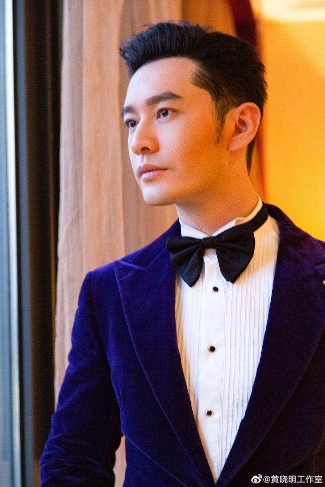 黃曉明的「霸道總裁」風格被網友懷疑患有「中年王子病」。(取材自微博)