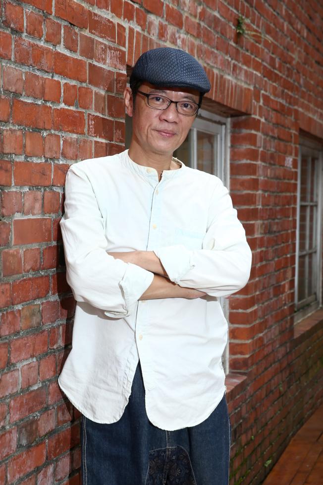 吳朋奉今年以「第一響槍」入圍金鐘迷你劇男主角。(記者蘇健忠/攝影)