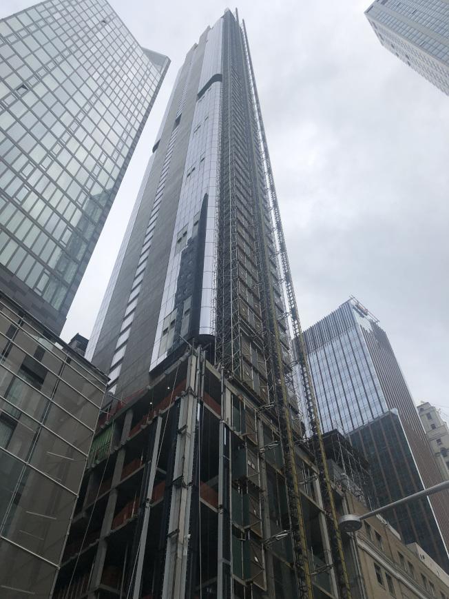 富裕華人熱衷購買曼哈頓的高檔公寓。(圖:David許提供)