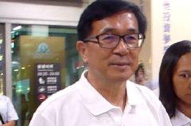 前總統陳水扁今晚在臉書PO文不贊同呂秀蓮選總統。圖/本報資料照片