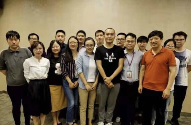 環球時報召開香港報導表彰會。付國豪獲10萬元人民幣的最高獎。 圖/取自胡錫進微博
