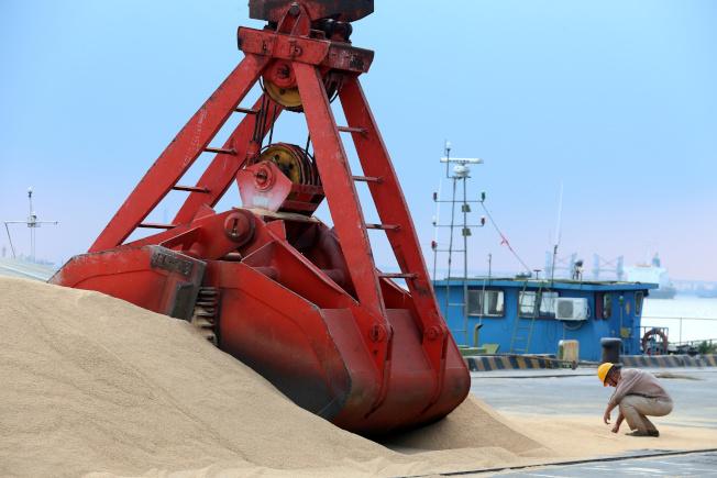 農產品採購是中國對美貿易戰籌碼之一。(路透資料照片)