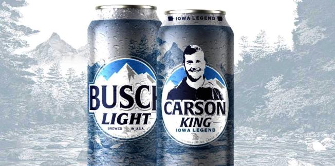 卡森金玩笑之舉最後募得100萬美元,他將捐給當地兒童醫院。啤酒公司把他的臉印製在啤酒罐上。取材自推特