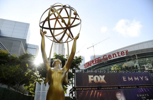 第71屆艾美獎22日晚間在洛杉磯微軟劇院舉行。(美聯社)