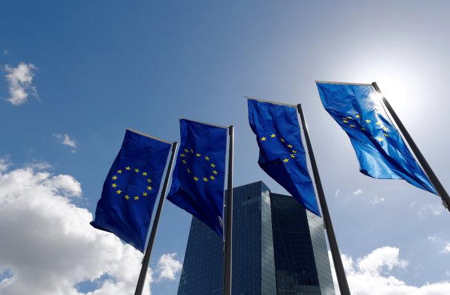 歐洲央行總部。路透