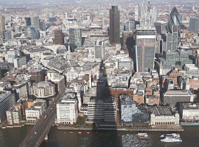 倫敦FinTech產業今年前八月一共進行114樁交易,吸引資金達21億美元。 路透