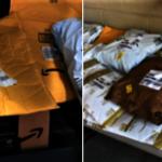 包裹被棄置公墓 伯靈頓警充當送貨員