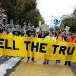 讓華府停擺!環團封街抗議 施壓聯國氣候峰會關注氣候變遷