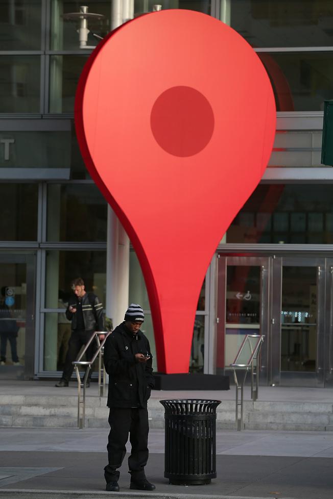 "Google Maps将推出""无痕模式""。(Getty Images)"