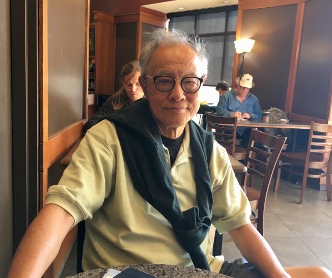 UCI教授、華裔電漿物理學家陳騮獲頒錢德勒塞卡電漿物理學終身成就奬。(記者尚穎/攝影)