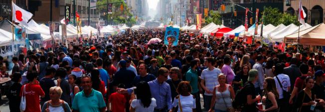 「Asian Bites」亞洲美食展覽、「NY Ramen Contest」拉麵比賽等精彩活動即將登場。(取自活動官網)