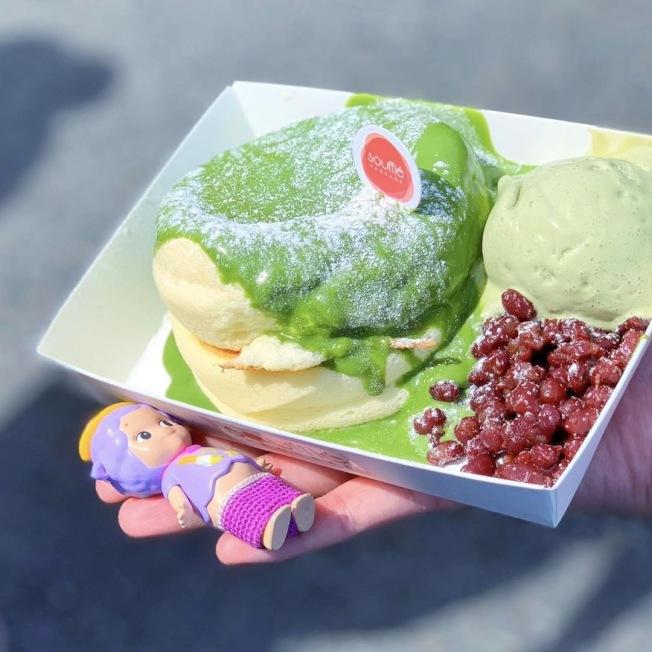 「Asian Bites」亞洲美食展覽網羅最高人氣美食,圖為舒芙蕾鬆餅。(取自活動官網)