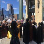 波士頓海港區華裔情侶車禍1死1傷 社區追悼