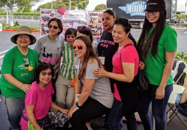 橙縣角聲中心「華裔E-女人計劃」得到大家好評。(黃之怡提供)