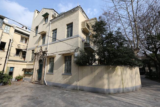 武康路40弄1號唐紹儀舊居外觀。