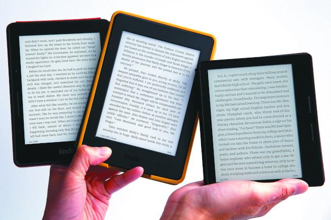 自亞馬遜推出Kindle以來已經超過十年,人們想脫離螢幕。(美聯社)