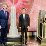 帝國大廈亮燈賀中國國慶