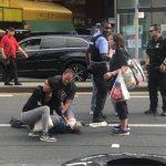 華埠華翁被撞昏迷 華人白人西語裔聯手相助