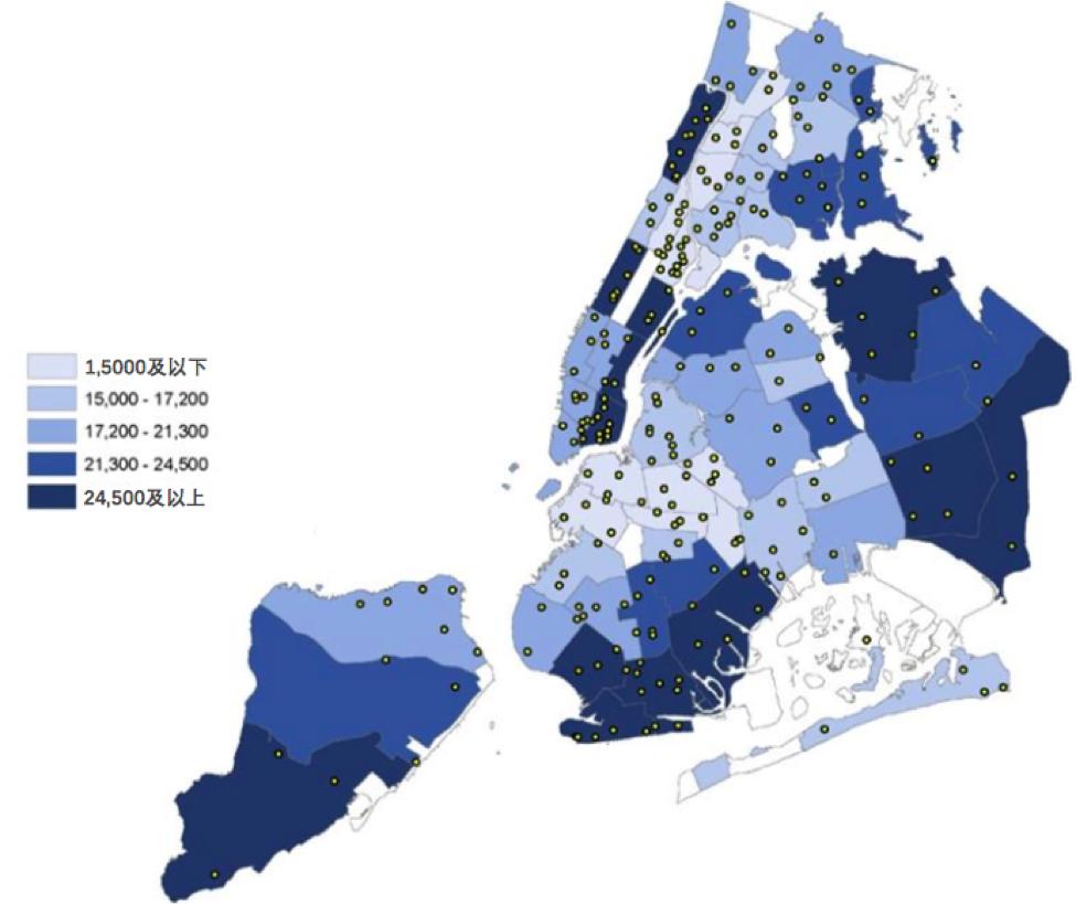 數據來源:NYC Department of City Planning