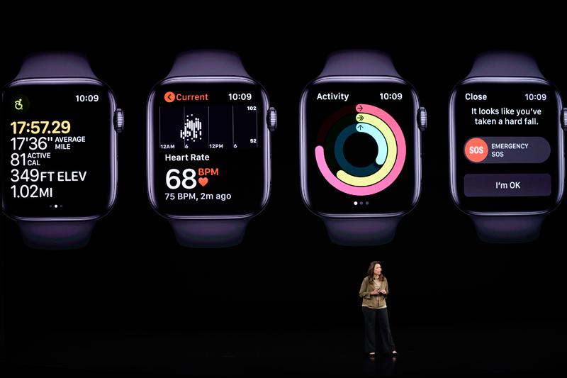 蘋果推出Apple Watch。(美聯社)