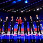 〈直播〉民主黨第3場辯論 楊安澤宣布驚喜 現場歡呼