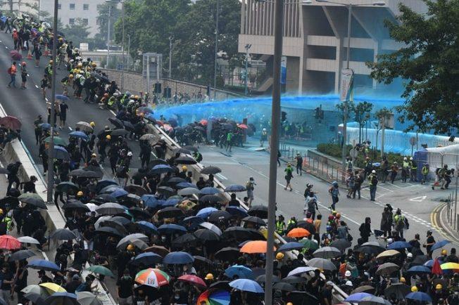929反送中大遊行 香港台灣10萬人上街
