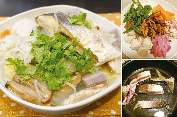 鯧魚米粉是經典台菜,在家也可以簡單做。圖/太陽臉
