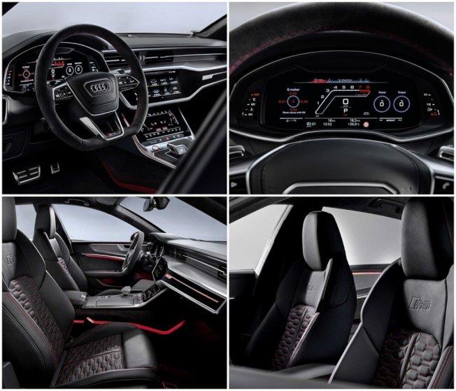 內裝配置則是與RS 6 Avant相同。(Audi)