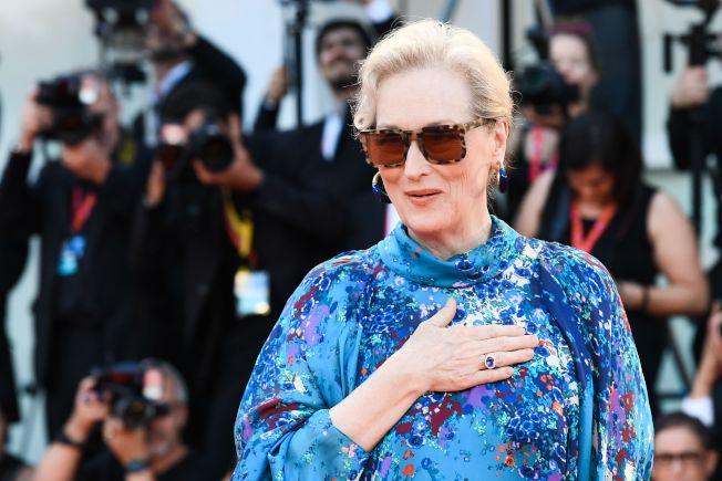 好萊塢女星梅莉史翠普(Meryl Streep)。(Getty Images)