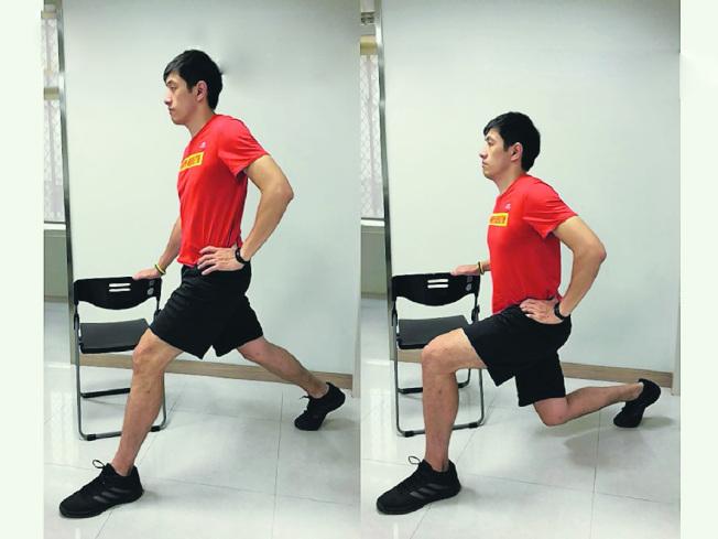 維持下肢肌力,是穩定膝關節的重要關鍵。(圖:新北市衛生局提供)
