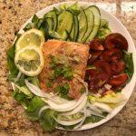 營養美味的烤鮭魚