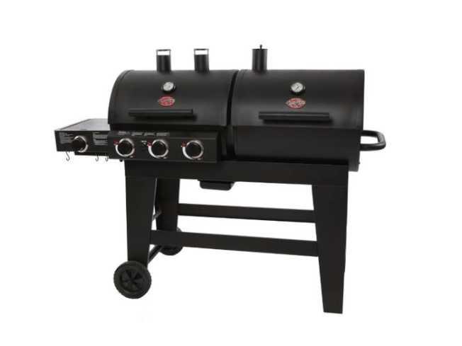 最佳木炭和燃氣雙用燒烤爐。(亞馬遜網站)