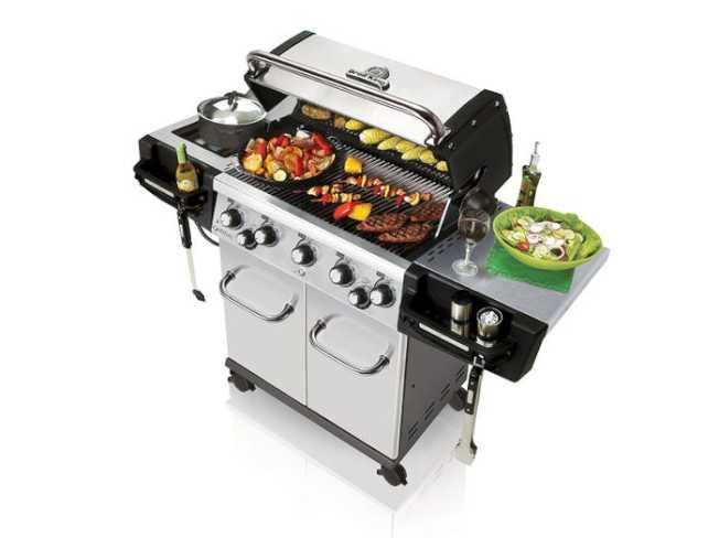最佳燒烤爐-烤王。(亞馬遜網站)
