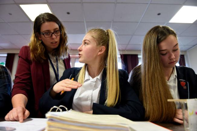 老師不希望被家長視為保母。(Getty Images)
