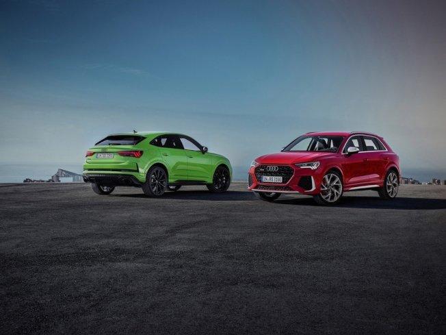 全新Audi RS Q3(圖右)、RS Q3 Sportback(圖左)正式亮相。(Audi)