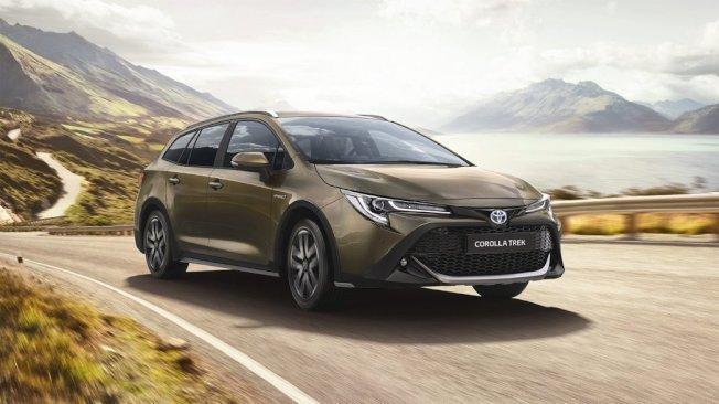 Toyota Corolla TREK。(Toyota EU)