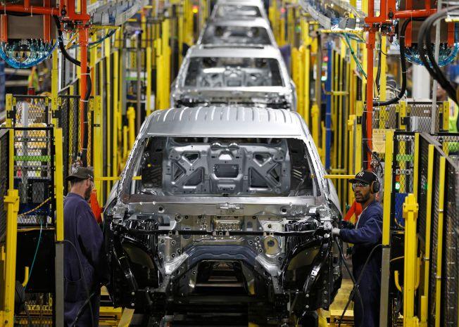 電動車工廠不需要那麼多的組裝工人。(Getty Images)