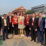 僑領受邀北京國慶大典 熱傳朋友圈