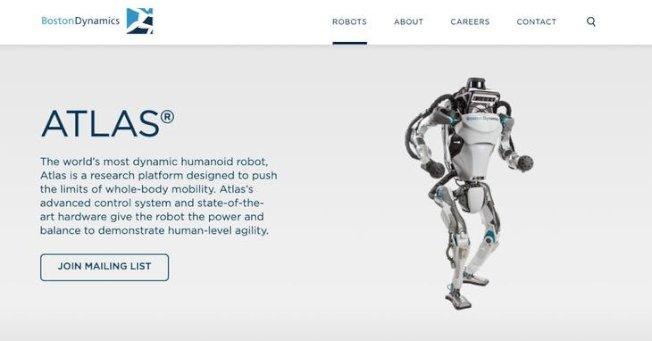 跑酷运动已确定难不倒双足机器人Altas。(取材自Boston Dynamics)