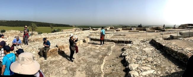 所羅門王北宮遺址。