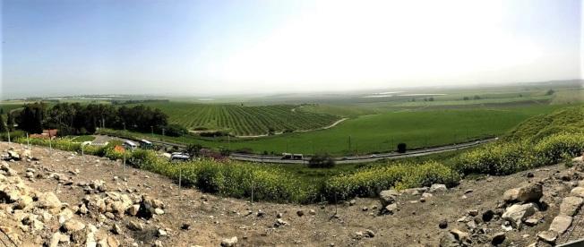 耶斯列平原。