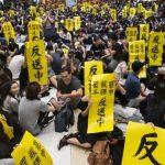 香港記協:10‧1至少9名記者遭警所傷 譴責暴力行為