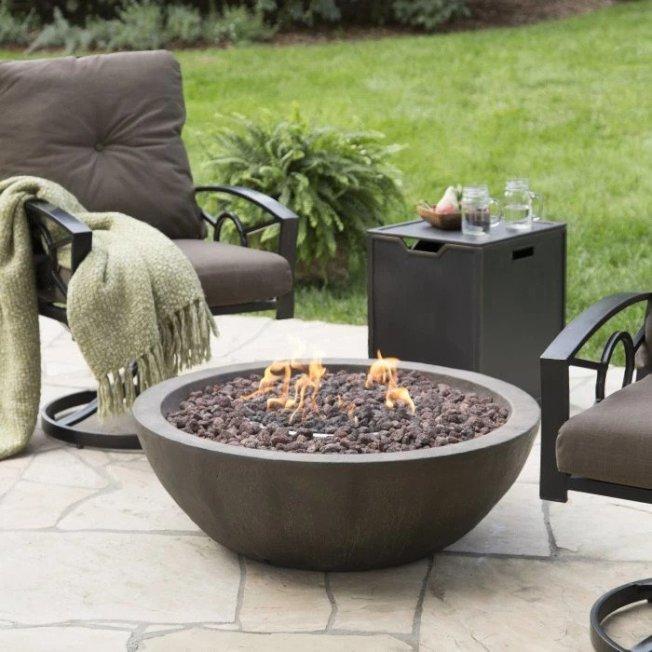 網上有許多可直接購買的篝火爐,使用燃氣非常方便。(商家圖片)