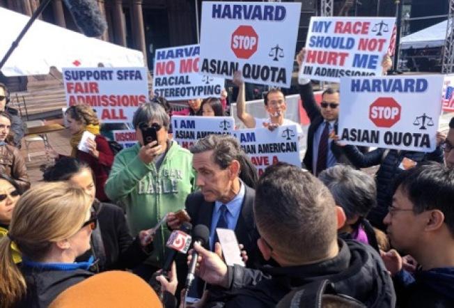 「學生爭取公平入學」提告哈佛大學歧視亞裔生引發激烈辯論。(美國教育記者協會提供)