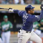 MLB/淘汰運動家 光芒4轟搞定外卡 狄亞茲雙響砲