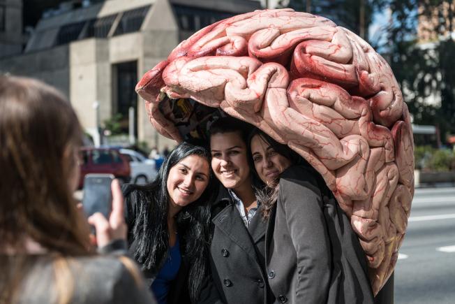 研究顯示,交情愈深的人,腦部控制感情的反應、推理和注意力部位的神經型態都很類似。(Getty Images)