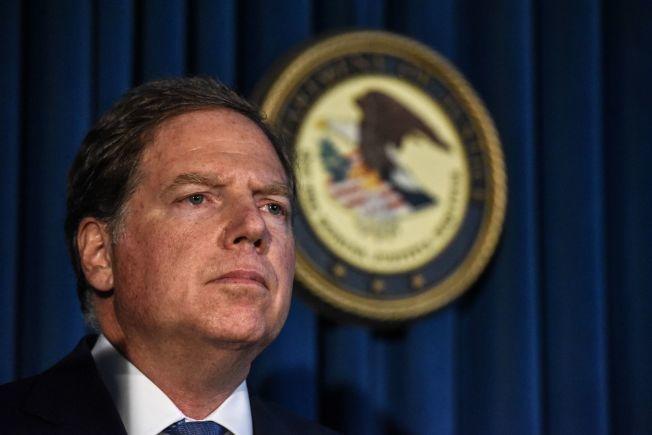 柏曼控六人密謀販運可卡因及海洛因罪。(Getty Images)