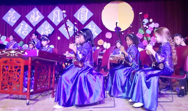 小時代兒童國樂團表演。(記者尚穎╱攝影)
