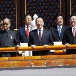 93歲江澤民、102歲宋平十一現身 長壽領導們都吃啥?