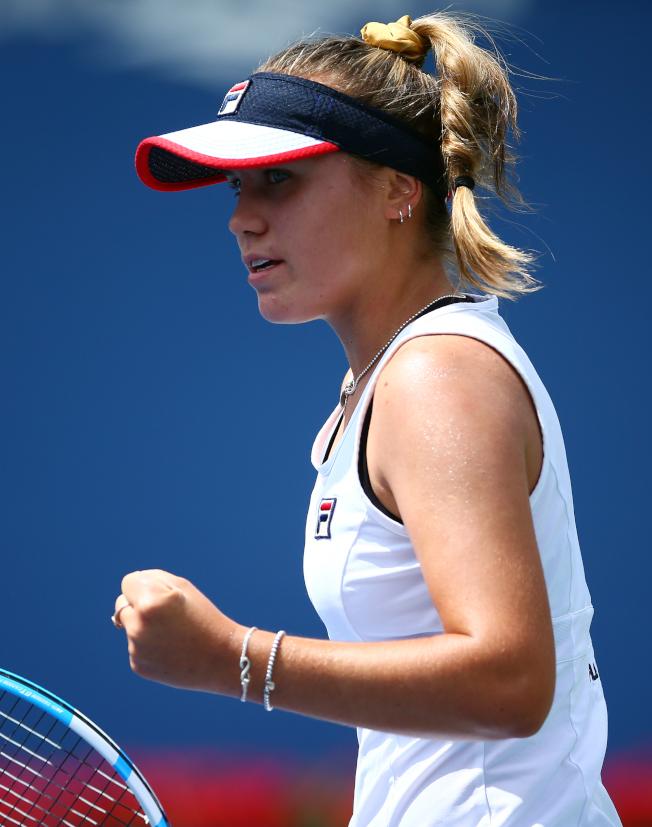 20歲的珂寧逐漸竄起,成為2019年WTA職業女網球季成績最出色的美國球員。(Getty Images)